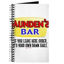 Munden's Bar Sober Journal