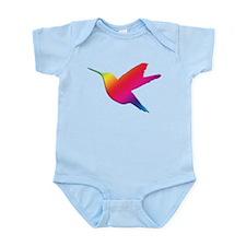 Rainbow Hummingbird Infant Bodysuit