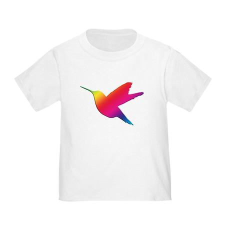 Rainbow Hummingbird Toddler T-Shirt