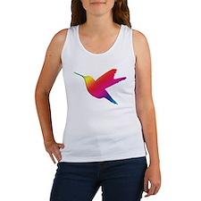 Rainbow Hummingbird Women's Tank Top
