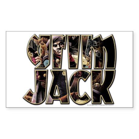 GrimJack Art Rectangle Sticker