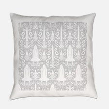 Rocket Science Damask Everyday Pillow