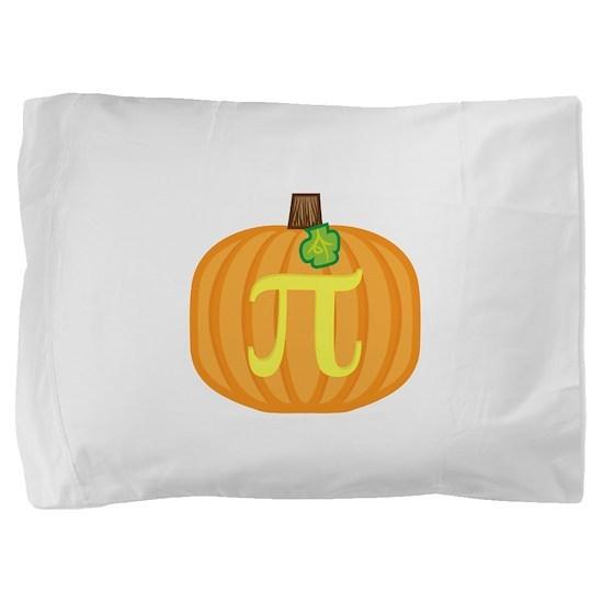 pumpkin_pi.png Pillow Sham