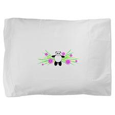 Pretty Panda Pillow Sham