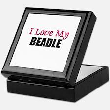I Love My BEADLE Keepsake Box