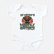 My Daddy's HEAVILY ARMED! Infant Bodysuit