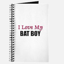 I Love My BAT BOY Journal