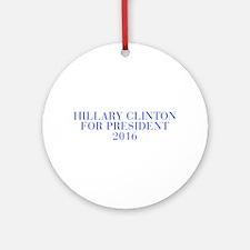 Hillary Clinton for President 2016-Bau blue 500 Or