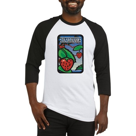 Strawberries Baseball Jersey