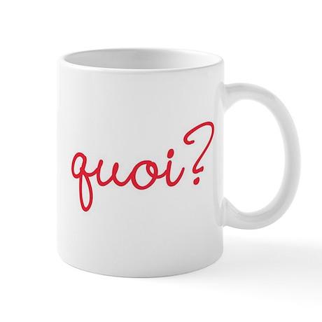 Quoi Coffee Mug