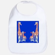 Reticulated Giraffes Bib