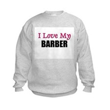I Love My BARBER Jumpers