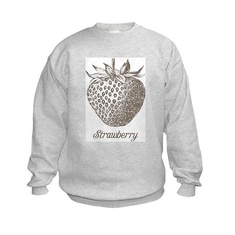 Vintage Strawberry Kids Sweatshirt