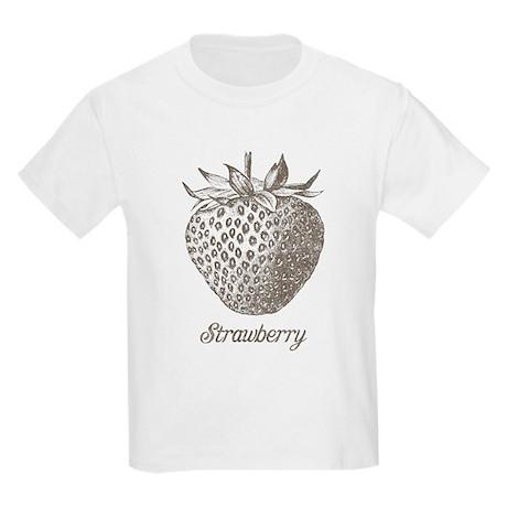 Vintage Strawberry Kids Light T-Shirt