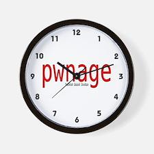 pwnage Wall Clock