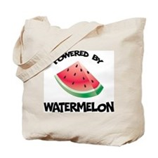 Powered By Watermelon Tote Bag