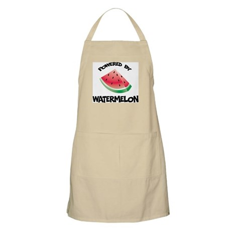 Powered By Watermelon BBQ Apron
