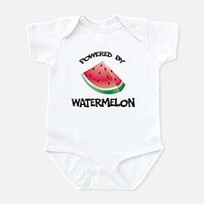 Powered By Watermelon Infant Bodysuit