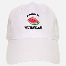 Powered By Watermelon Baseball Baseball Cap