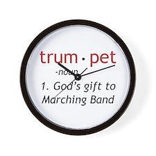 God's Gift Trumpet Wall Clock