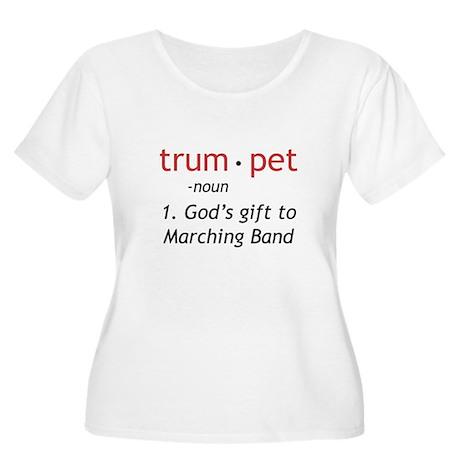 God's Gift Trumpet Women's Plus Size Scoop Neck T-