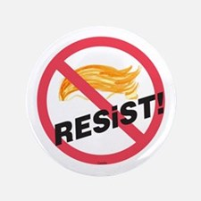 The Official No Trump Zone Resist! Sign Button
