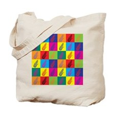 Pop Art Corn Tote Bag