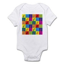 Pop Art Corn Infant Bodysuit