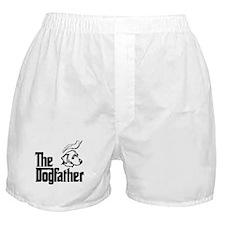 Blue Lacy Boxer Shorts