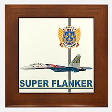 Su-35 Super Flanker Framed Tile