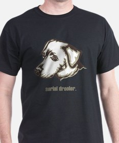 Blue Lacy T-Shirt