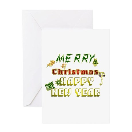 Text Christmas.:-) Greeting Card