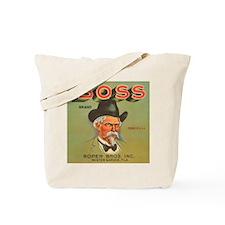 Boss Vintage Crate Label Tote Bag