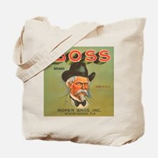 Boss Vintage Crate Label Tote Bag