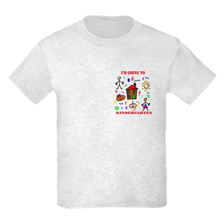 I'm Going to Kindergarten Kids Light T-Shirt