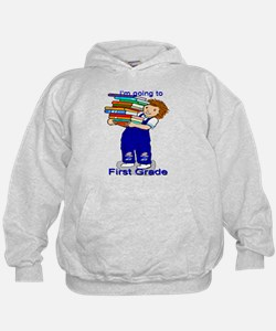 I'm Going to First Grade - Boy Hoodie