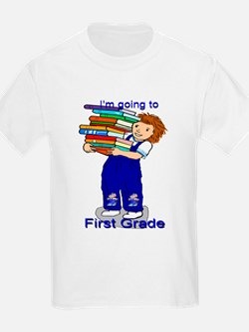 I'm Going to First Grade - Boy T-Shirt