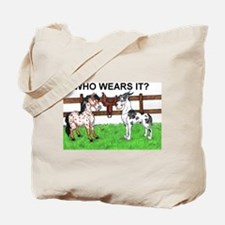 Who wears it Great Dane & Pony Tote Bag