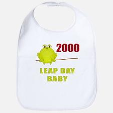 2000 Leap Year Baby Bib