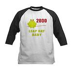 2000 Leap Year Baby Kids Baseball Jersey