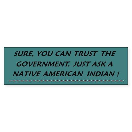 Trust Government?