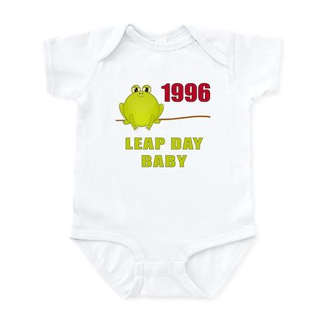 1996 Leap Year Baby Infant Bodysuit