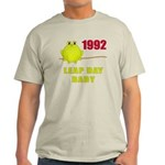 1992 Leap Year Baby Light T-Shirt