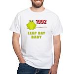1992 Leap Year Baby White T-Shirt