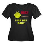1992 Leap Year Baby Women's Plus Size Scoop Neck D