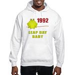 1992 Leap Year Baby Hooded Sweatshirt