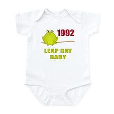 1992 Leap Year Baby Infant Bodysuit