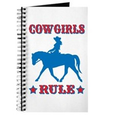 Red & Blue Cowgirls Rule Journal