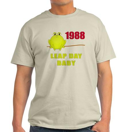 1988 Leap Year Baby Light T-Shirt
