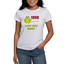 1988 Leap Year Baby Tee